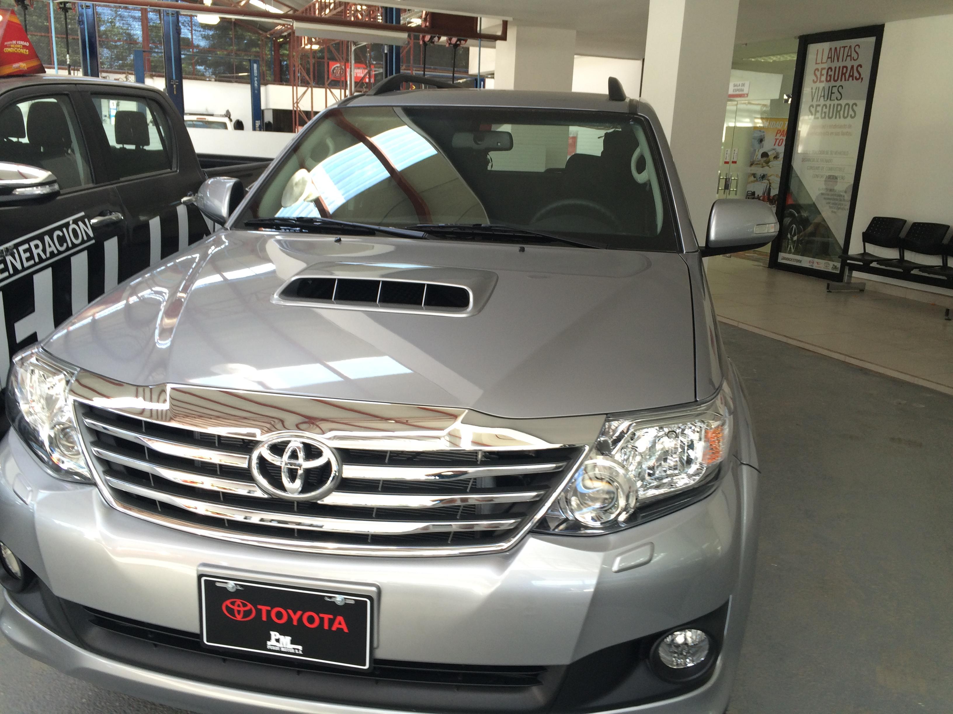 New Toyota 4x4 in Costa Rica