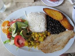 Perfect meal in Costa Rica