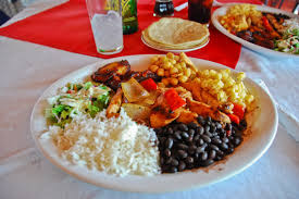 Costa Rica Traditional Meal