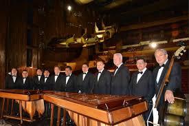 Group of Marimba musicians in Costa Rica