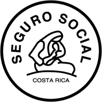Logo of the CCSS in Costa Rica