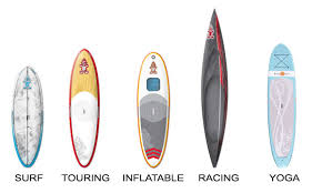5 different types of paddleboard