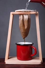 Typical Costa Rica coffee maker