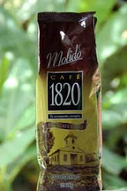 1820 brand of Costa Rica coffee