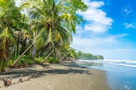 Caribbean beach Costa Rica
