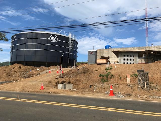 Costa Rica Water Tank in Playa del Coco
