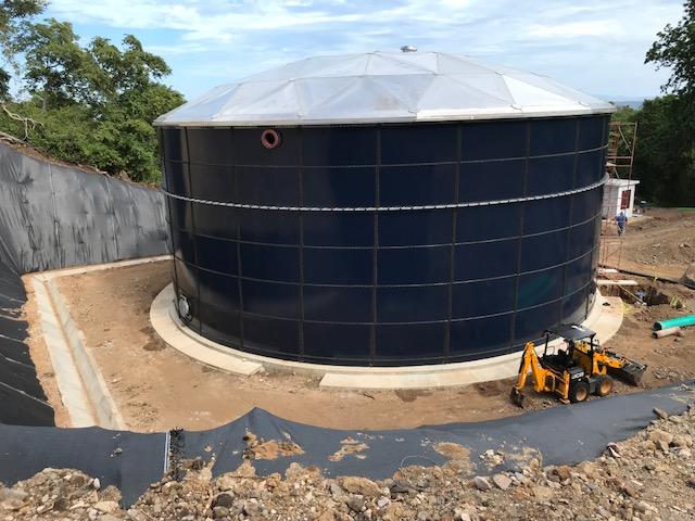 Costa Rica Water Tank in Playa Panama