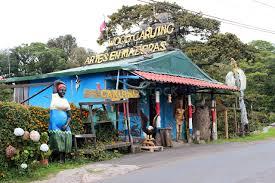 Poas volcano area fruit Stand