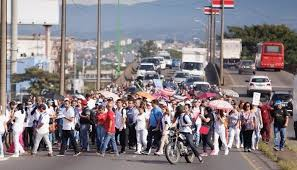 strike against Costa Rica government