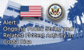 strike in Costa Rica