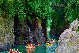 Rafting trip in Costa Rica
