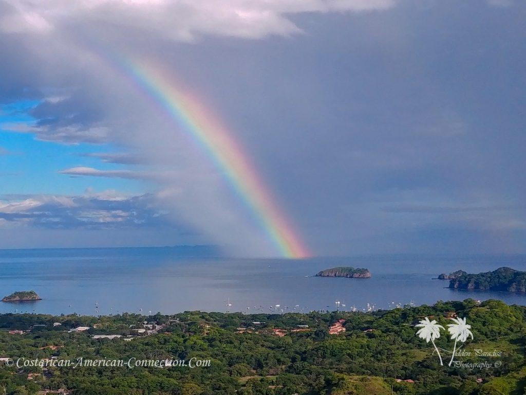 Rainbow off the Coast of Playa Hermosa Costa Rica