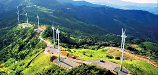Costa Rica wind power windmills