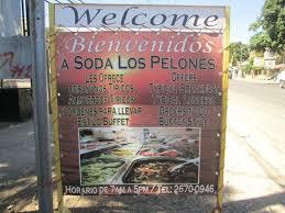 Soda Los Pelones in Playas del Coco Costa Rica