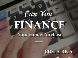 Title image about financing property in Costa Rica