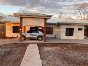 Front elevation of my home in Playa Hermosa