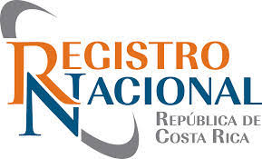 Logo of the Registro Nacional in Costa Rica - the land registry