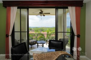 View from the living area of a condo in Costa Rica
