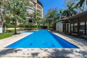 Beautiful condo complex in Costa Rica with a pool