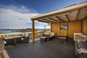 Rooftop deck overlooking the Pacific in Playa Hermosa Costa Rica
