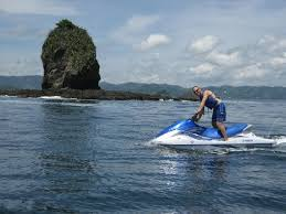 Jet Skiing in Playas del Coco area of Costa Rica