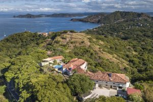 Aerial view of a Costa Rica luxury home