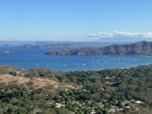 View of the Pacific from a Costa Rica mountain lot