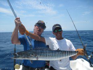 Joseph offshore fishing in Costa Rica