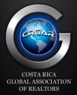 Costa Rica Global Association of Realtors Logo (CRGAR)