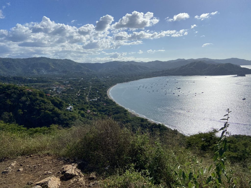 Beautiful bay for watching Humpback Whales in Costa Rica
