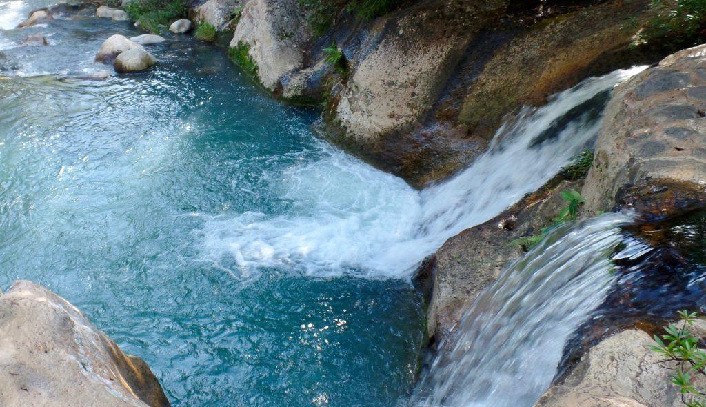 Waterfall and pool in Rincon de la Vieja
