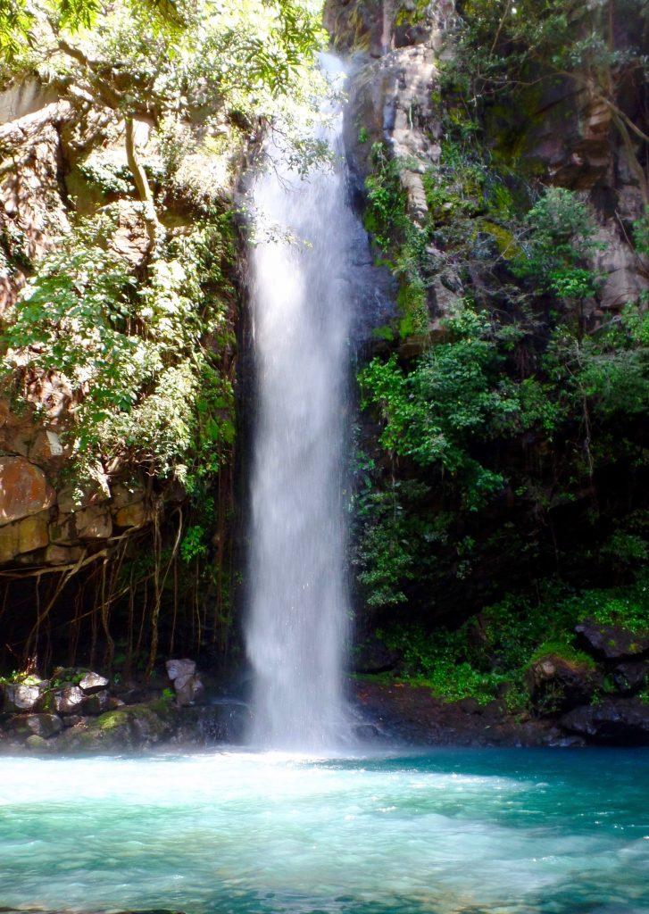 Waterfall in Rincon de la Vieja national park