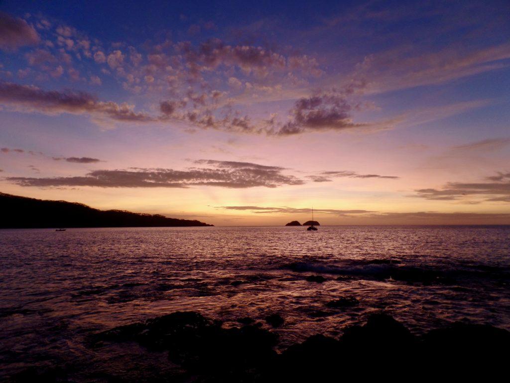 Sunset at Playa Hermosa, Guanacaste, Costa Rica