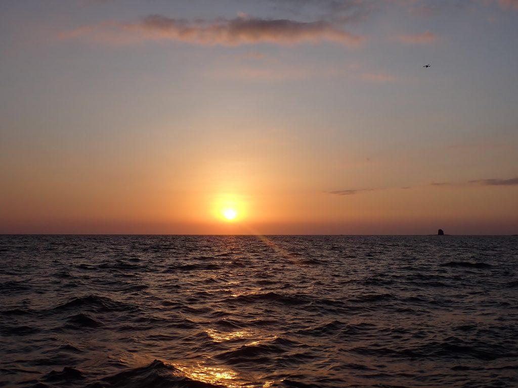 Golden Sunset in Playa Hermosa Costa Rica