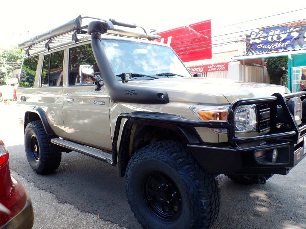 4x4 rental - a great way to get around Playas del Coco