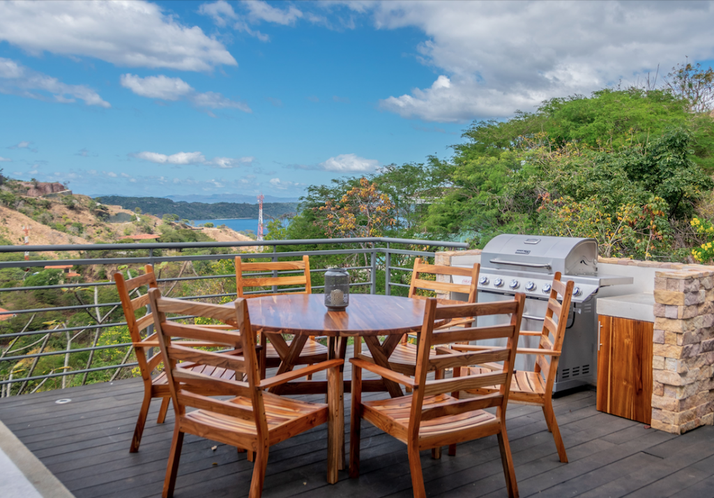 View of the Pacific from a Costa Rica luxury home